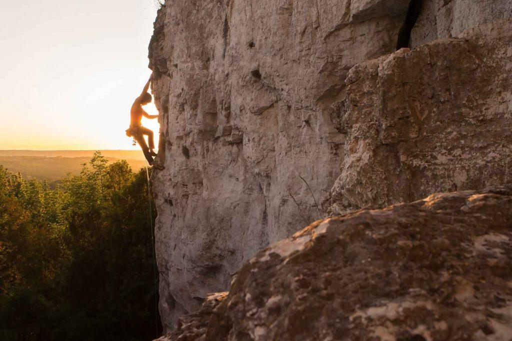 Extreme Sport: Rock Climbing