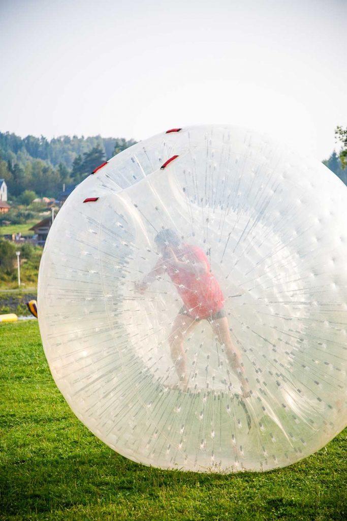 Extreme Sport: Zorbing