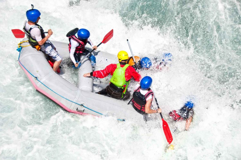 Extreme Sport: Whitewater Rafting