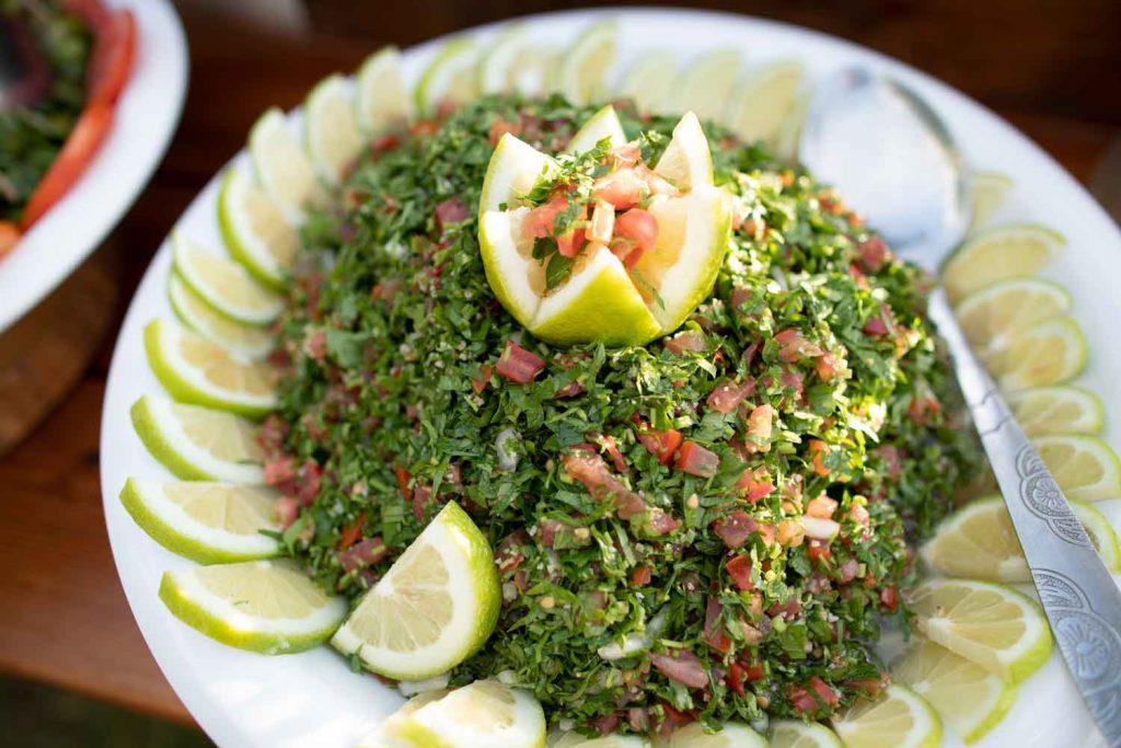 Lebanese Food: Tabbouleh – Parsley Bulgur Salad