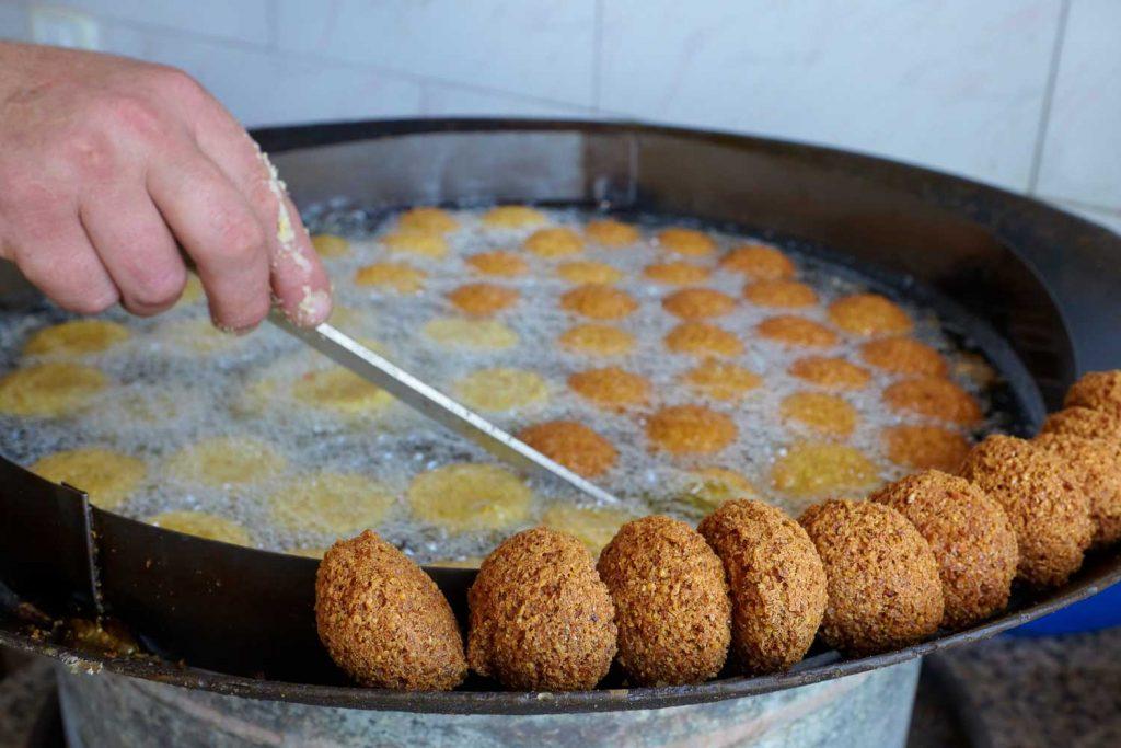Lebanese Food: Falafel – Deep-Fried Chickpeas or Fava Beans Balls & Patties