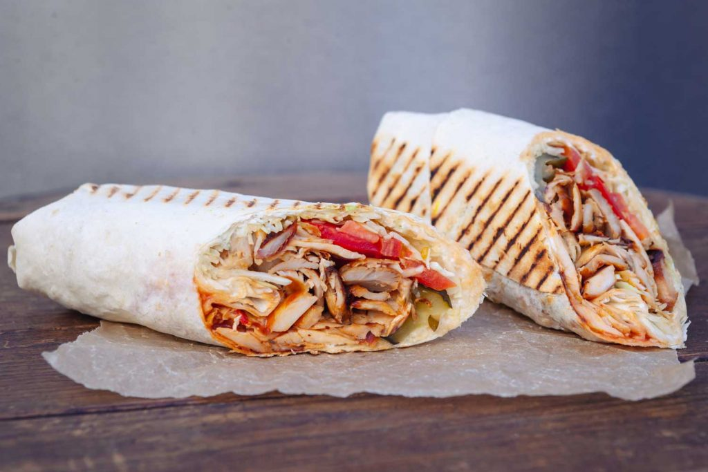 Lebanese Food: Shawarma – Meat or Chicken Slices