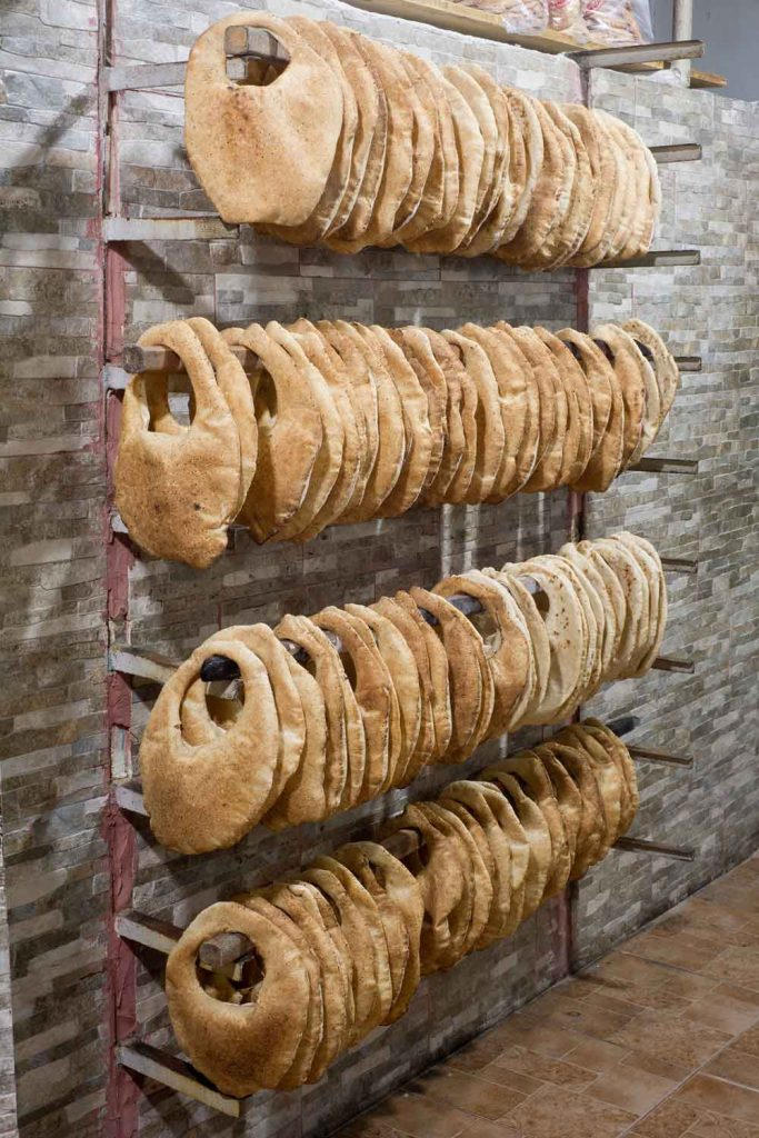 Lebanese Food: Kaak – Lebanese Purse Bread