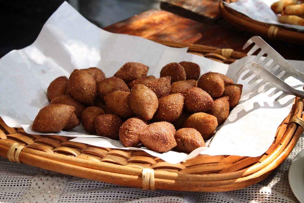 Lebanese Food: Kebbe or Kibbeh – Spiced Meat Balls