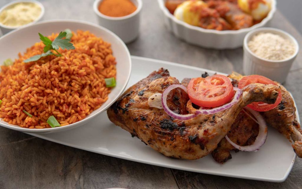 Nigerian food: Jollof Rice