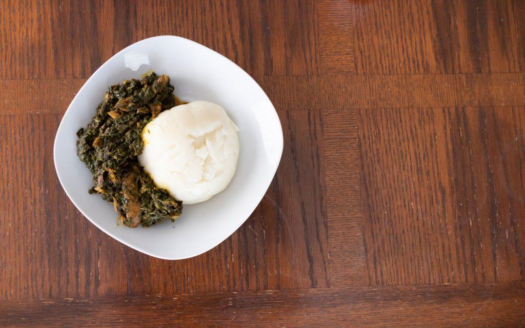Nigerian food: Iyan (Pounded Yam)