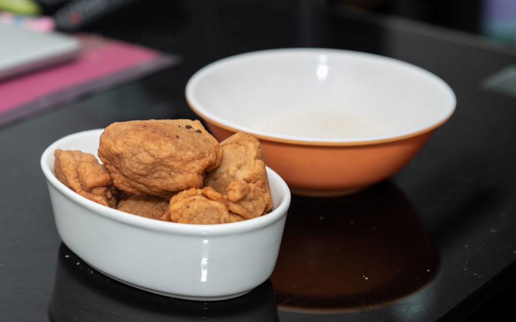 Nigerian food: Àkàrà (Fried Bean Cake)