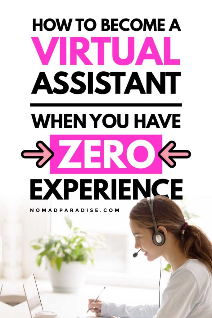 how to become a virtual assistant when you have zero experience