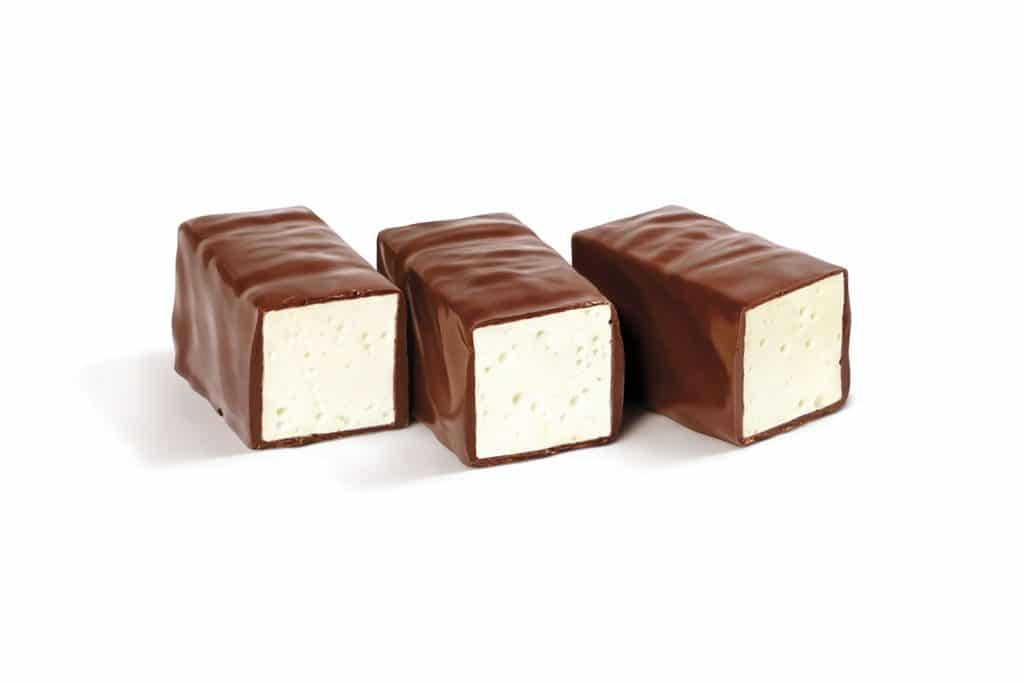 Russian Dessert: Ptichye Moloko (Птичье Mолоко) – Chocolate-Covered Milk-Based Soufflé