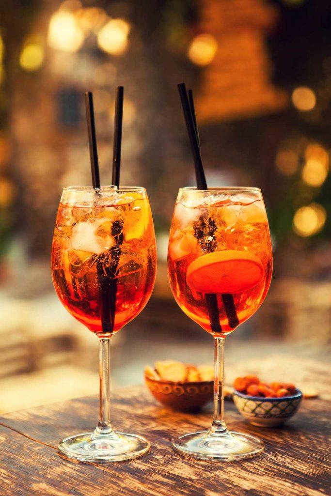 Sicilian Drink: Aperol Spritz