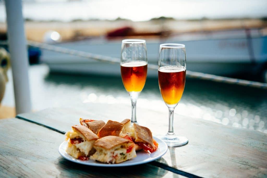 Sicilian Drink and Food: Aperitivo