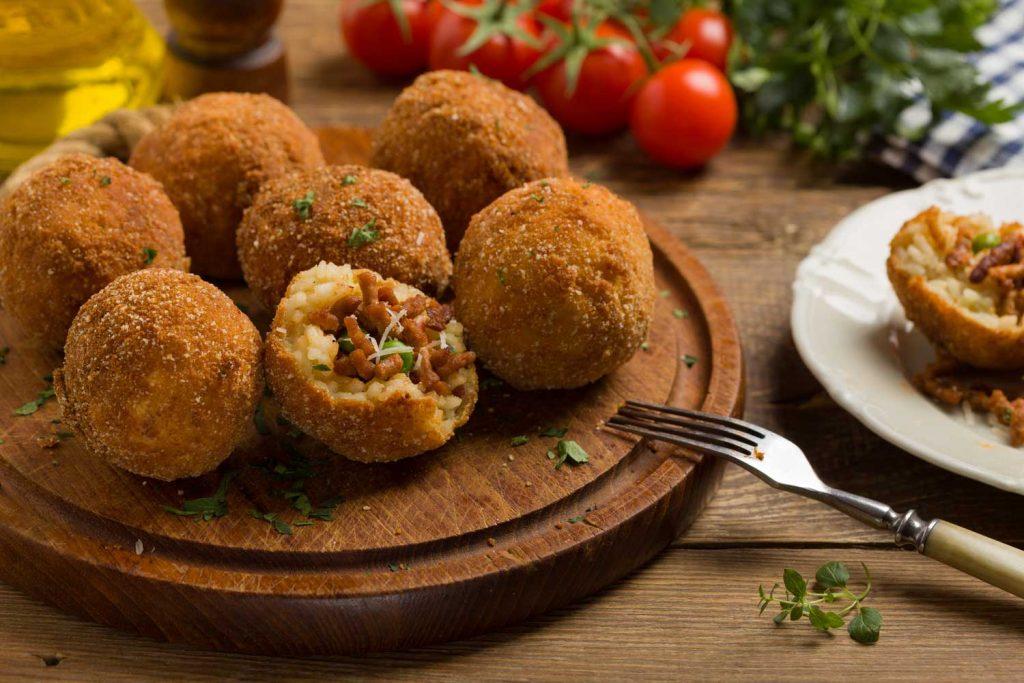 Sicilian Food: Arancini
