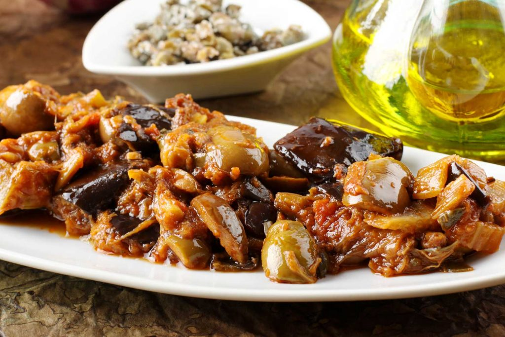 Sicilian Food: Capunata