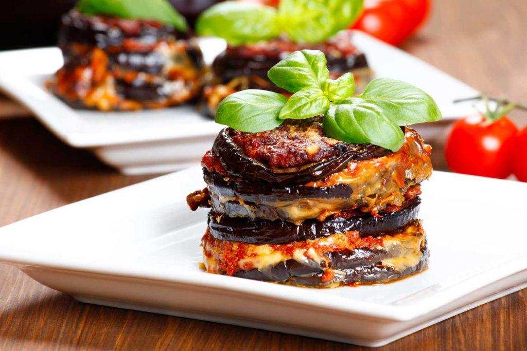 Sicilian Food: Parmigiana di Melanzane