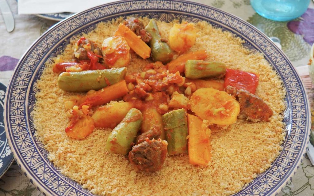 Tunisian Food: Couscous