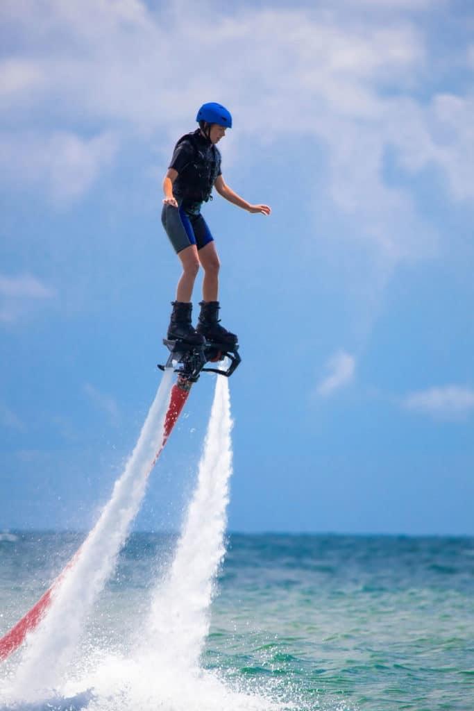 Flyboard Flying