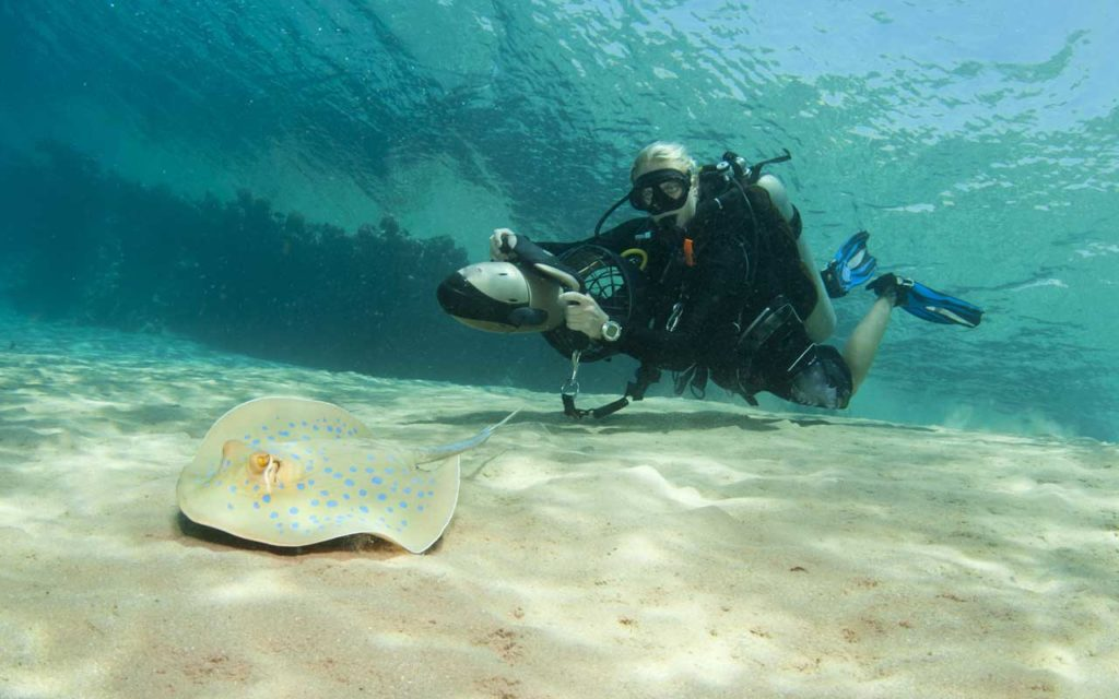 Underwater Scooter Adventure
