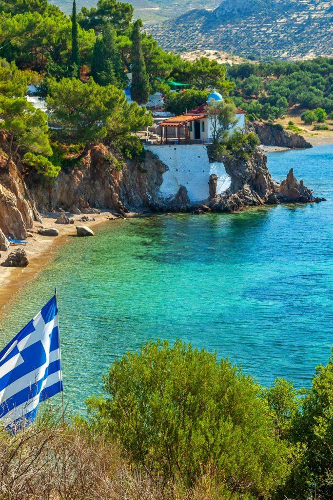 Greek island: Lesbos