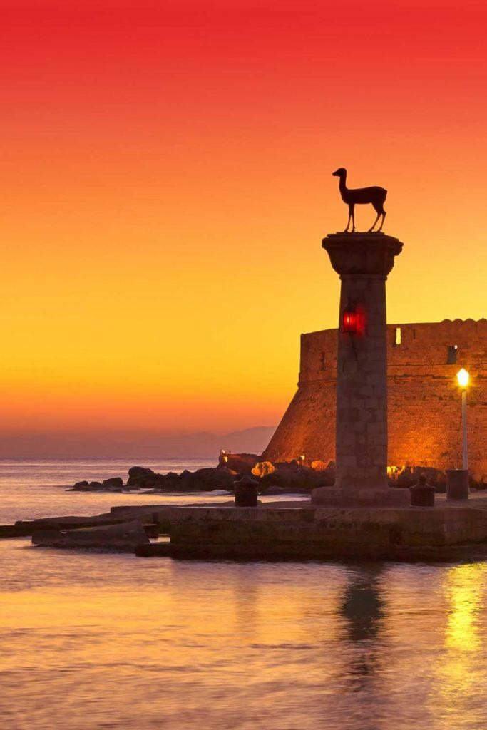 Greek island: Rhodes