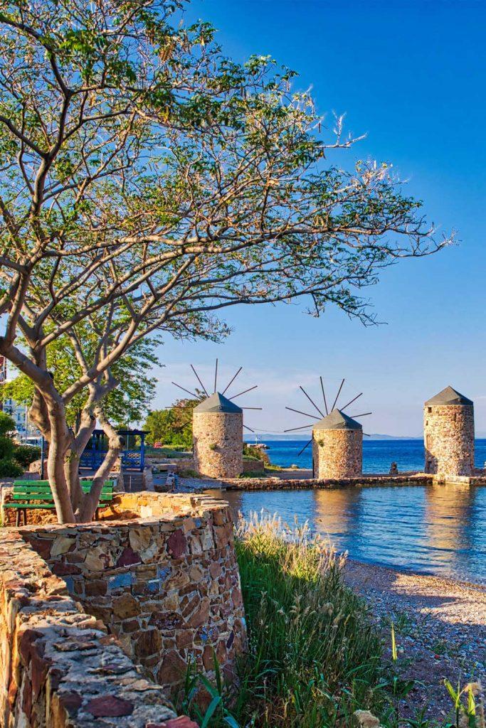 Greek island: Chios