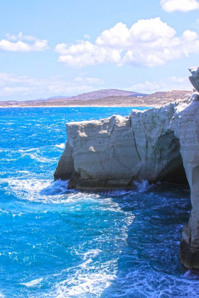 Greek island: Milos