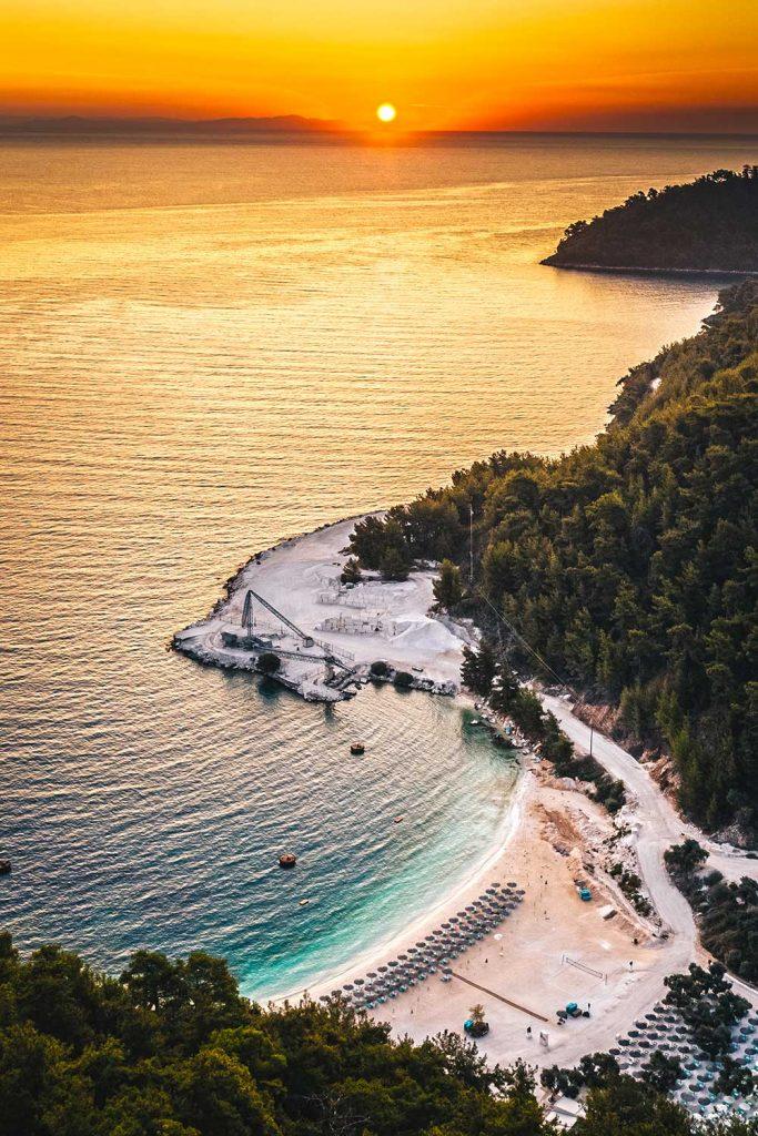 Greek island: Thassos