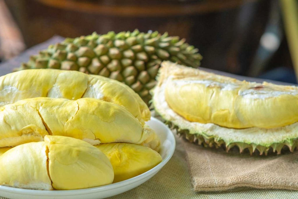 Asian fruit: Durian