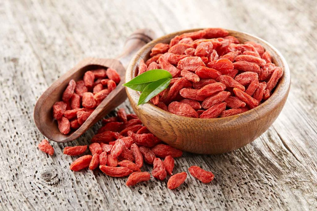 Asian fruit: Goji Berries
