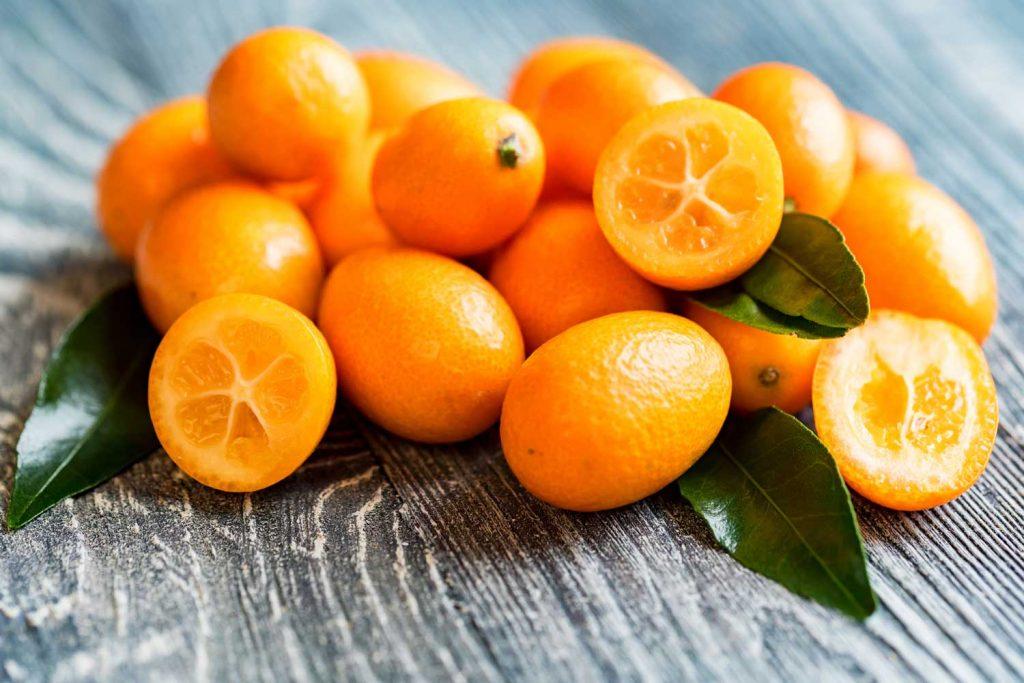 Asian fruit: Kumquat