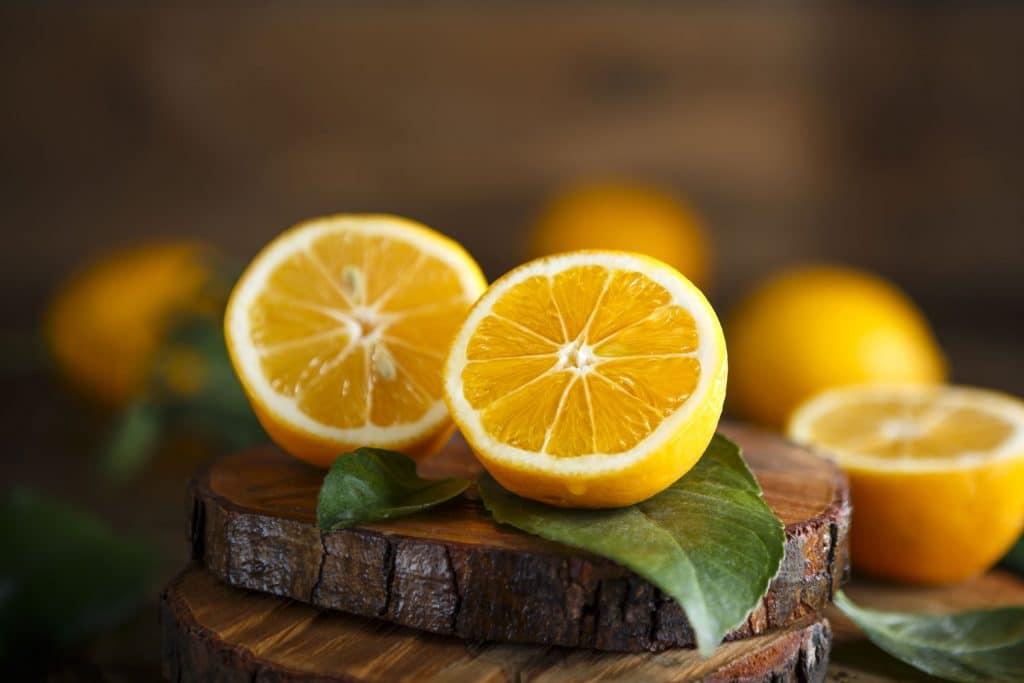 Asian fruit: Meyer Lemon