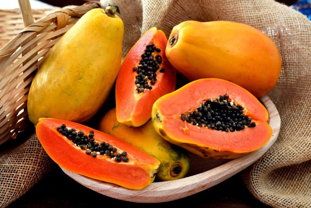 Asian fruit: Papaya