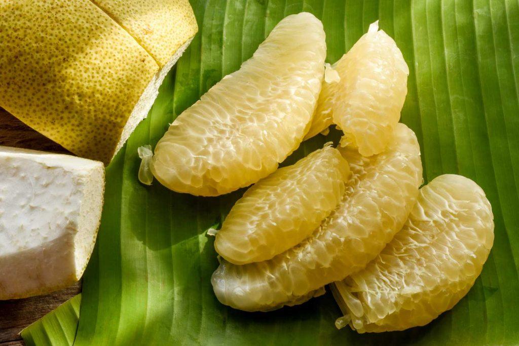 Asian fruit: Pomelo