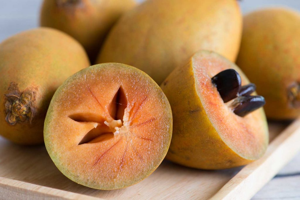 Asian fruit: Sapodilla