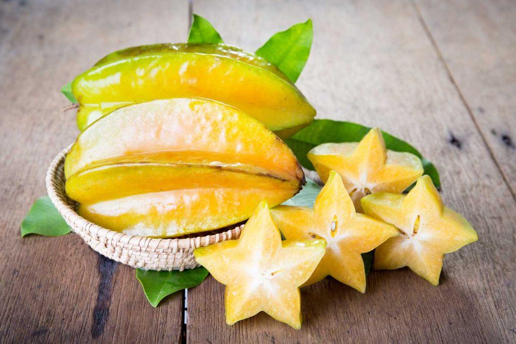 Asian fruit: Starfruit or Carambola
