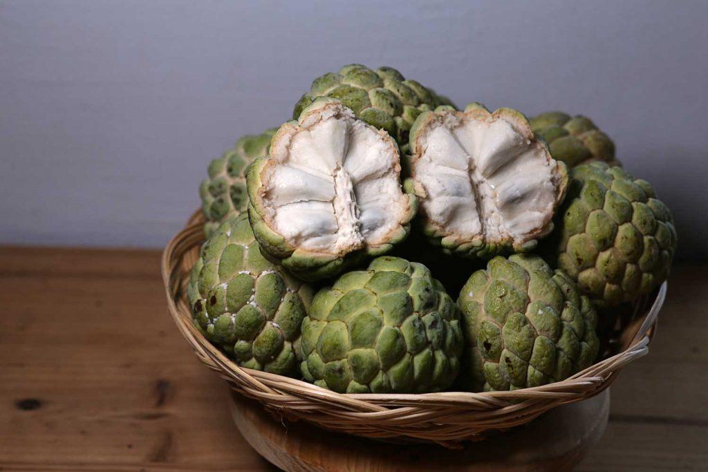 Asian fruit: Sugar Apple or Sweetsop