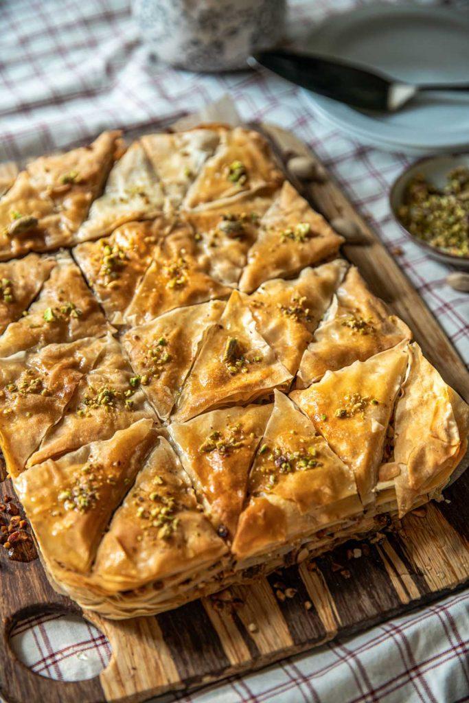 Greek Desserts: Baklava (Phyllo Pastry) – Μπακλαβάς