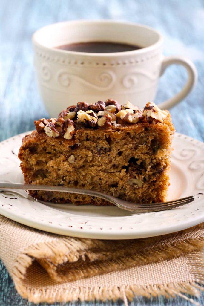 Greek Desserts: Karithopita (Walnut Cake) – Καρυδόπιτα