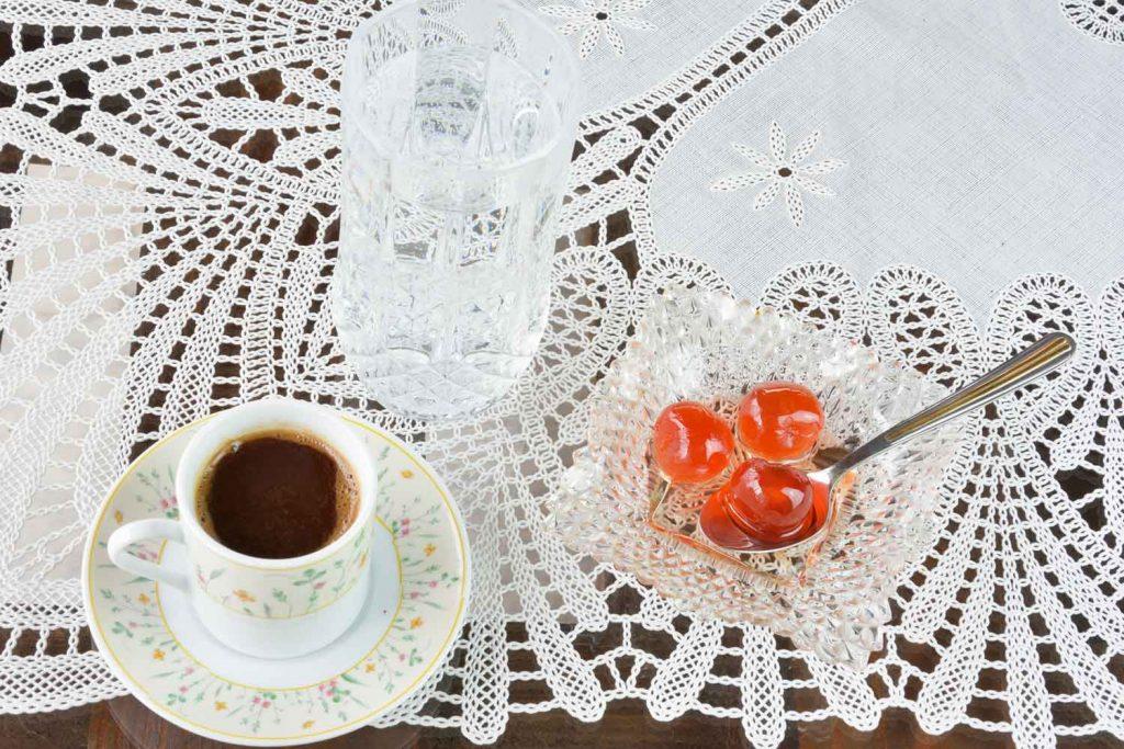 Greek Desserts: Gliko tou Koutaliou (Spoon sweets) - Γλυκό του κουταλιού