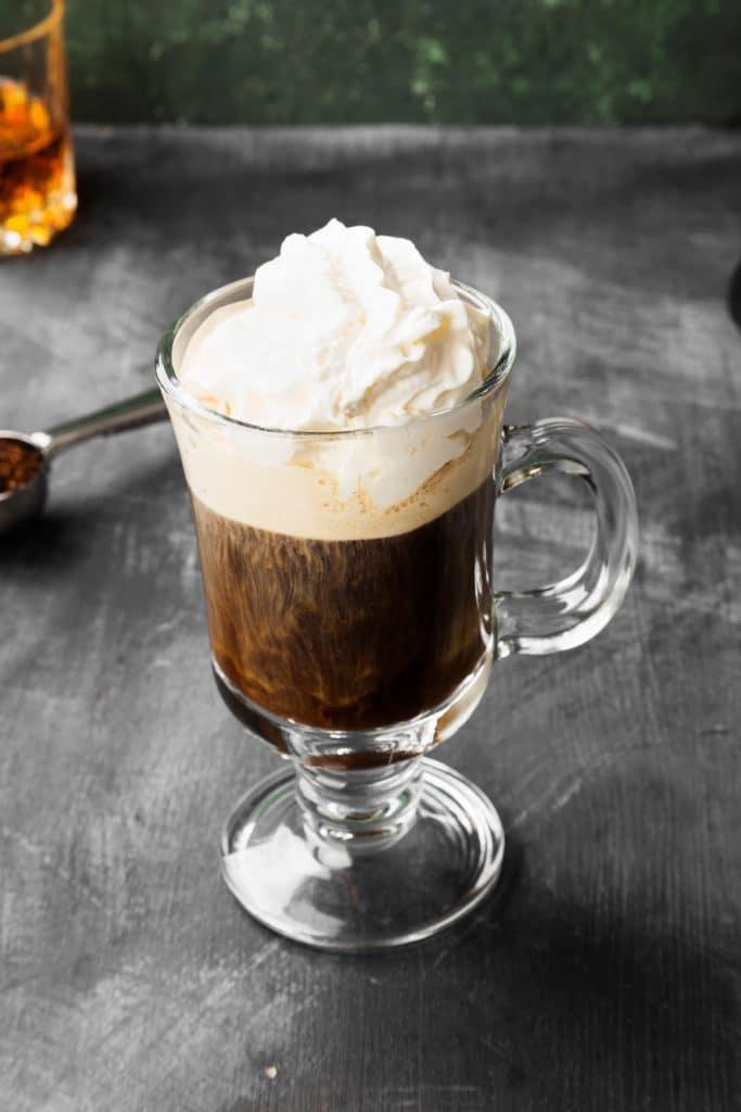 Irish food: Irish coffee