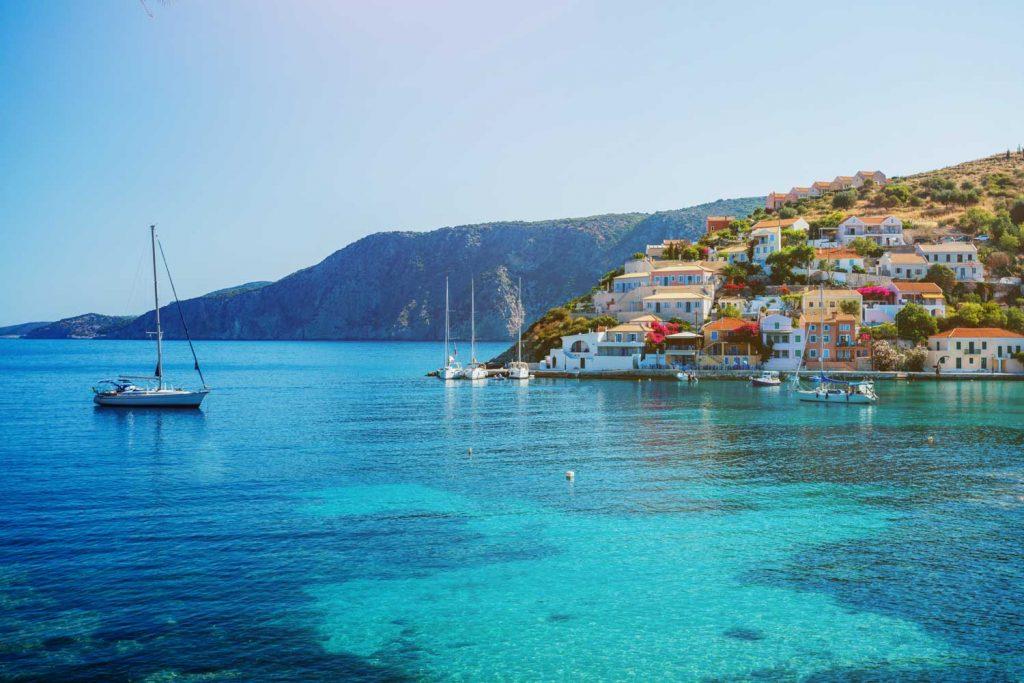 Mediterranean Island: Lefkada