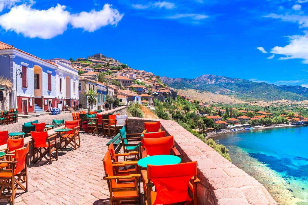 Mediterranean Island: Lesbos