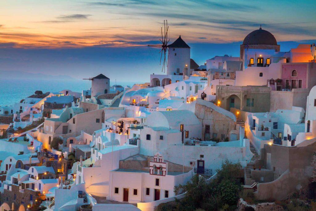 Mediterranean Island: Santorini