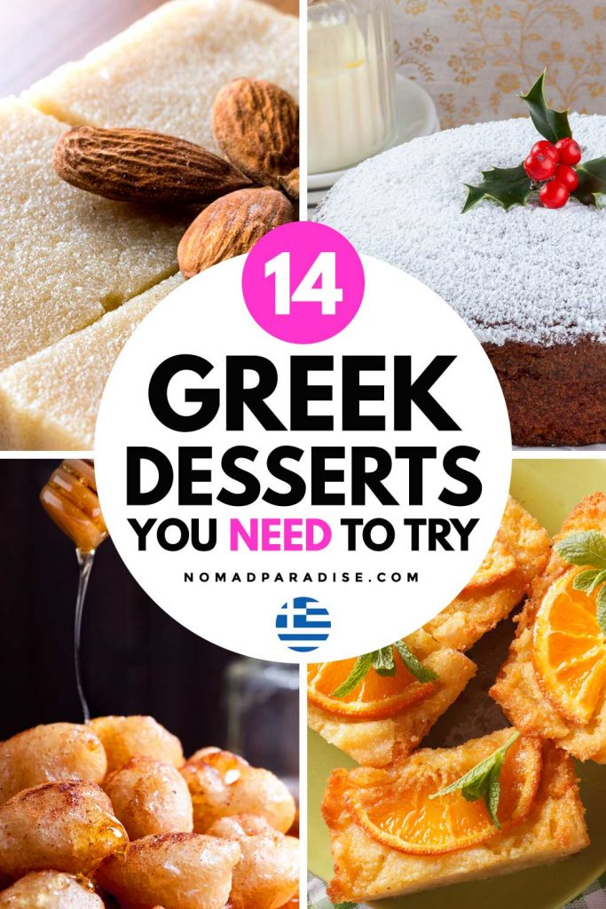 14 Greek Desserts You Need to Try - Nomad Paradise