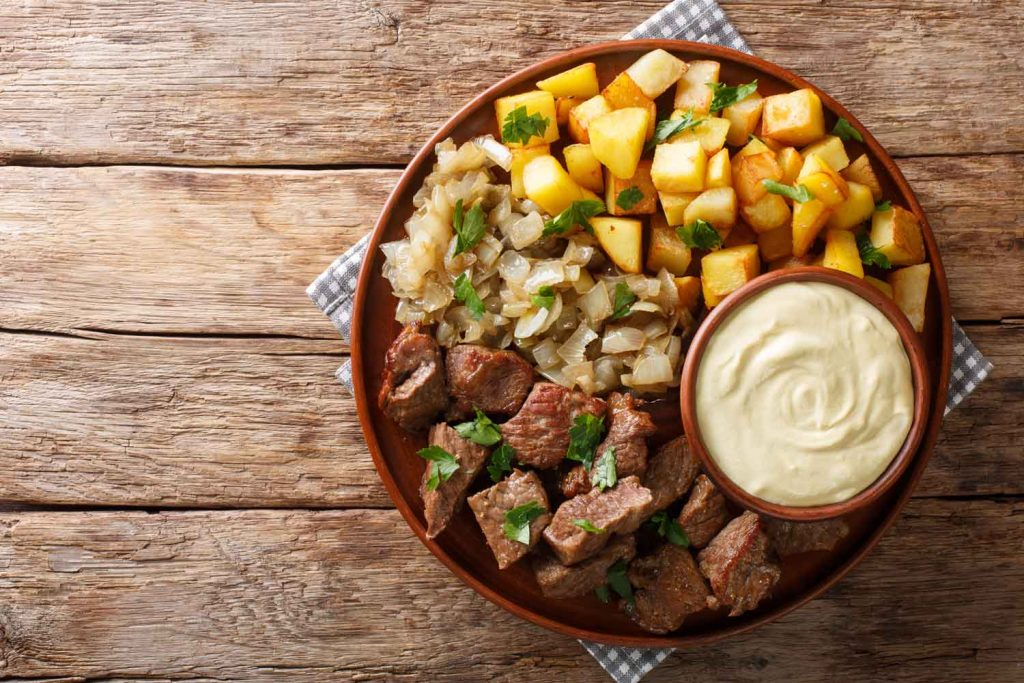 Swedish Food: Biff à la Rydberg