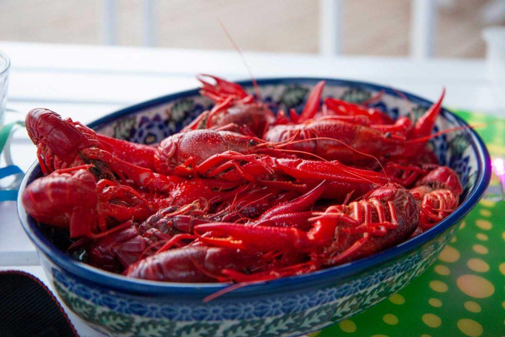 Swedish Food: Kräftor  – Crayfish
