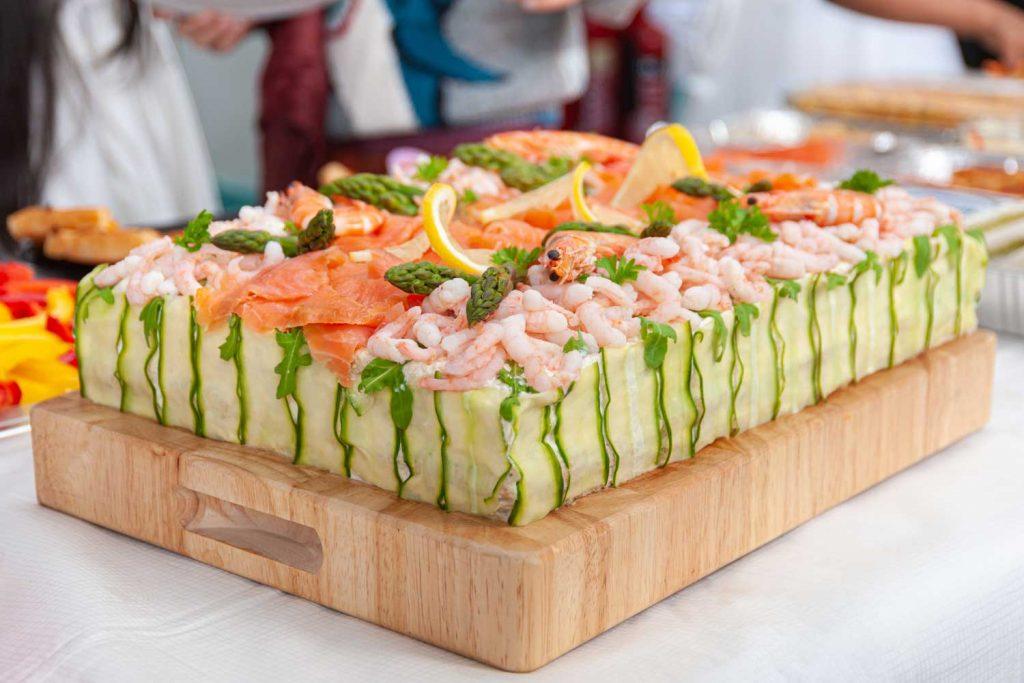 Swedish Food: Smörgåstårta – Swedish Sandwich Cake