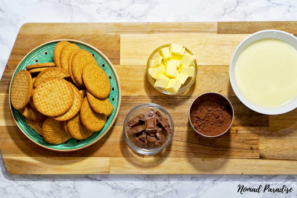 Tinginys – Lithuanian Lazy Cake Cookies Ingredients