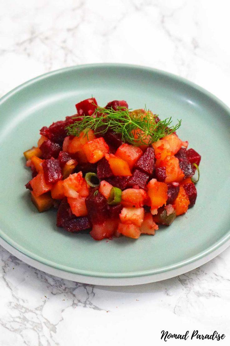 Russian Vinaigrette Salad (Vinegret / Винегрет)