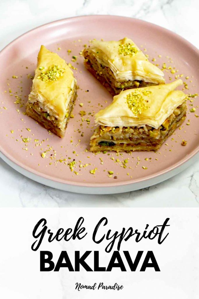 Greek-Cypriot Baklava