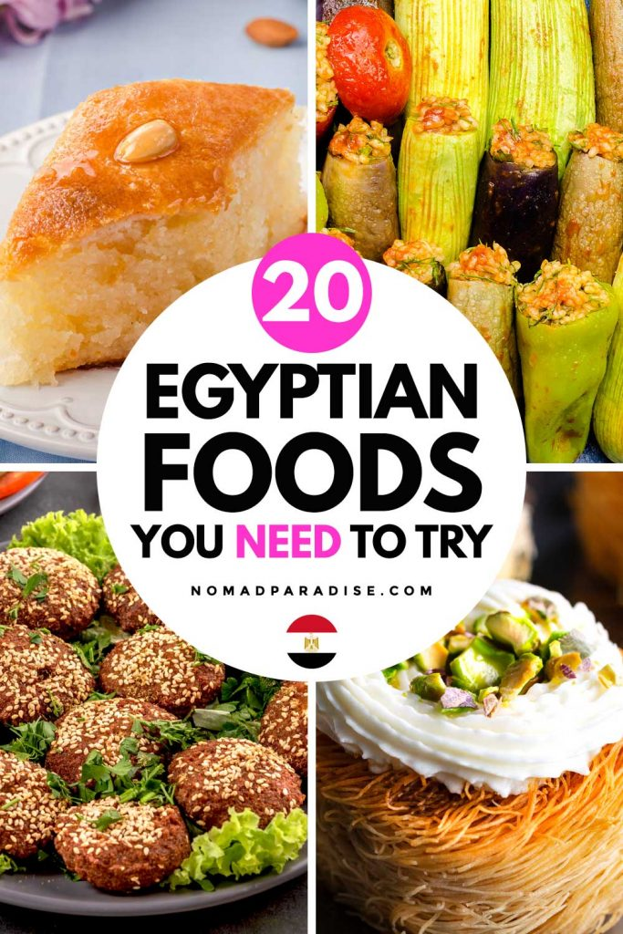 20 Egyptian Foods You Need to Try - Nomad Paradise